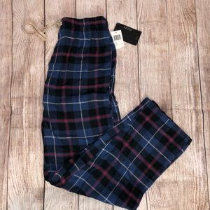 New Izod Flannel Pajama Pants